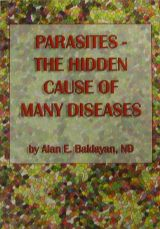 "[BUCH_BAKLAYAN_ENGL] Book ""Parasites – The Hidden Cause of Many Diseases"" by Alan Baklayan"