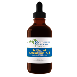 [N2214M] Natural Attention-Aid Liquid Herbal Extract, 4 oz (120 ml)